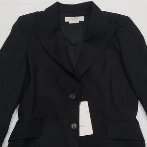 NWT Gucci uniform black blazer
